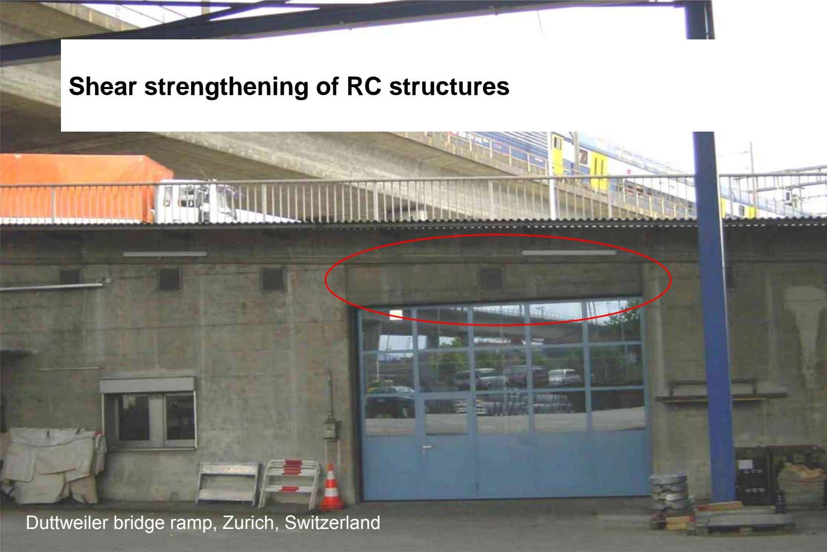 Shear strengthening of RC structures Shear strengthening of RC structures Externally Bonded FRP:Basics Fibre