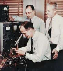 1947 Bipolar transistors invented by Bardeen, Brattain & Shockley at Bell Laboratories