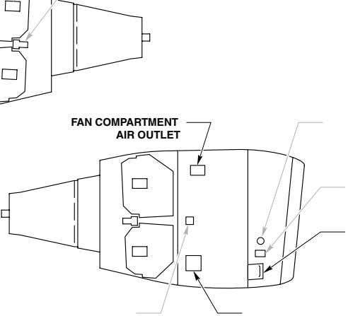 FAN COMPARTMENT AIR OUTlET