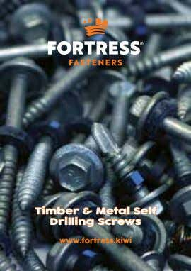 Timber & Metal Self Drilling Screws www.fortress.kiwi