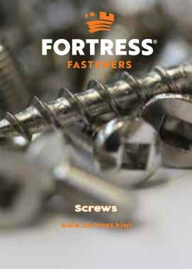 Screws www.fortress.kiwi
