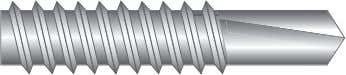 Screw Points Selection Guide 10 TYPE AB This point is found on Type AB self tapping