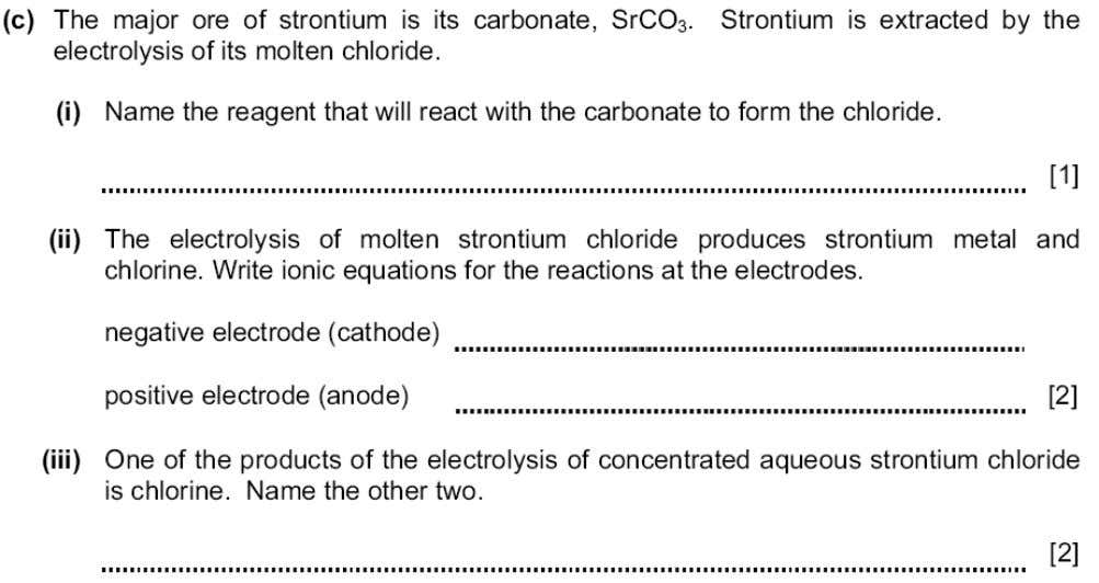 SCHOOL Topic 5 – Electricity and chemistry – Ext. 6. N/05 7. M/J/03 Teacher Hakim Abbas