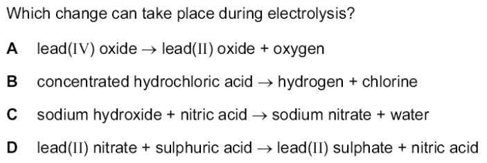 SCHOOL Topic 5 – Electricity and chemistry - MCQs 14. ? 15. ? 16. ? Teacher