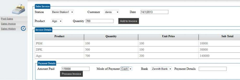 Customer Invoicing & Credit Sales Business Reporting Expense Management