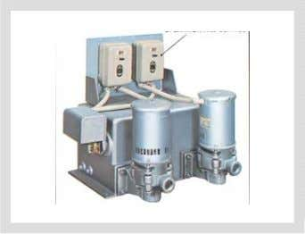 is higher the pumps will cavitate and malfunction. Another type of electric pump system is one