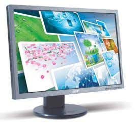 and more secure. ® Eco-compliant, environment-friendly The Acer Eco-Display monitor directive ensures the product