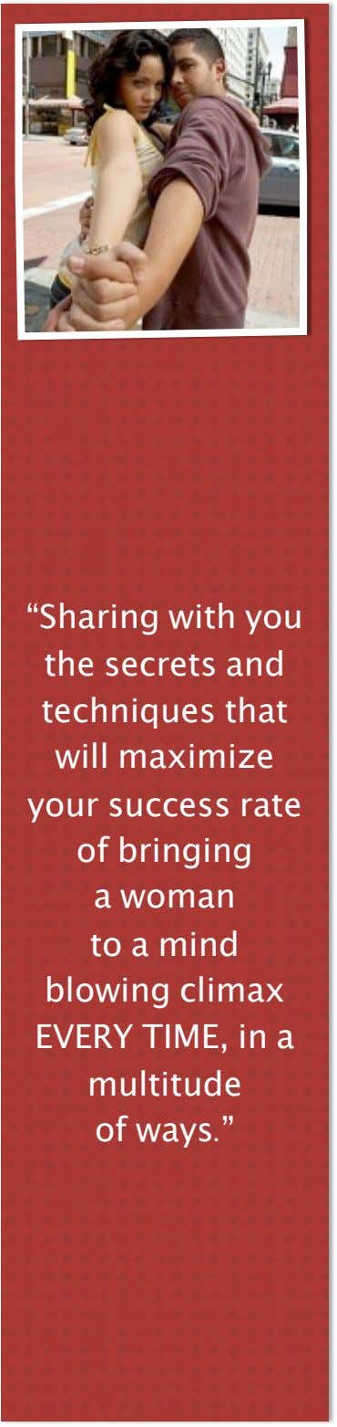 """Sharing with you the secrets and techniques that will maximize your success rate of bringing"