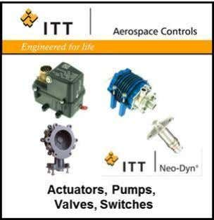 ITT AEROSPACE CONTROLS Linear Actuators Pumps Valves Solenoids Switches Rotary Actuators PROPRIETARY AND CONFIDENTIAL