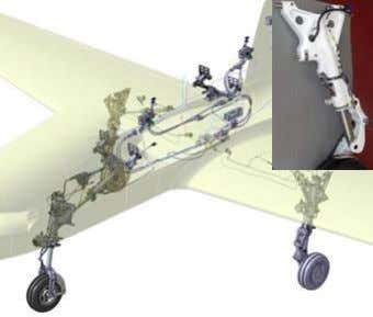 & Design PROPRIETARY AND CONFIDENTIAL Integrated Flight Control Systems Landing gear systems www.mecaer.com
