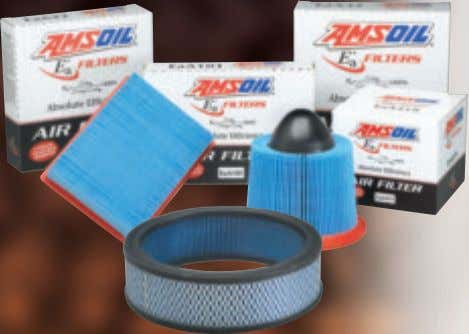 miles or one year, whichever comes first, in severe service. Ea Air Filters (EaA) AMSOIL Ea