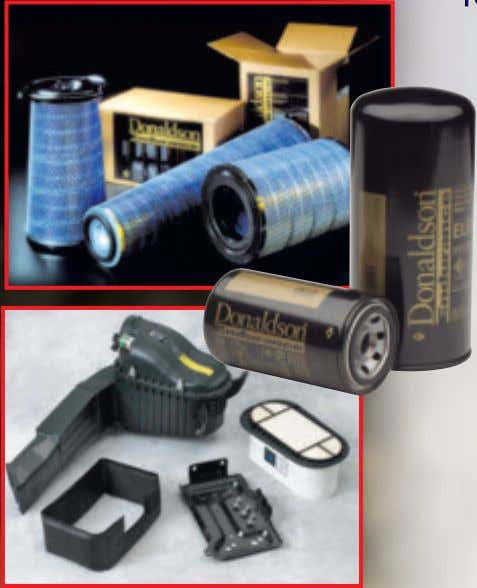 Heavy Duty Donaldson Filters AMSOIL offers premium Donaldson oil, air, fuel, coolant and hydraulic filters