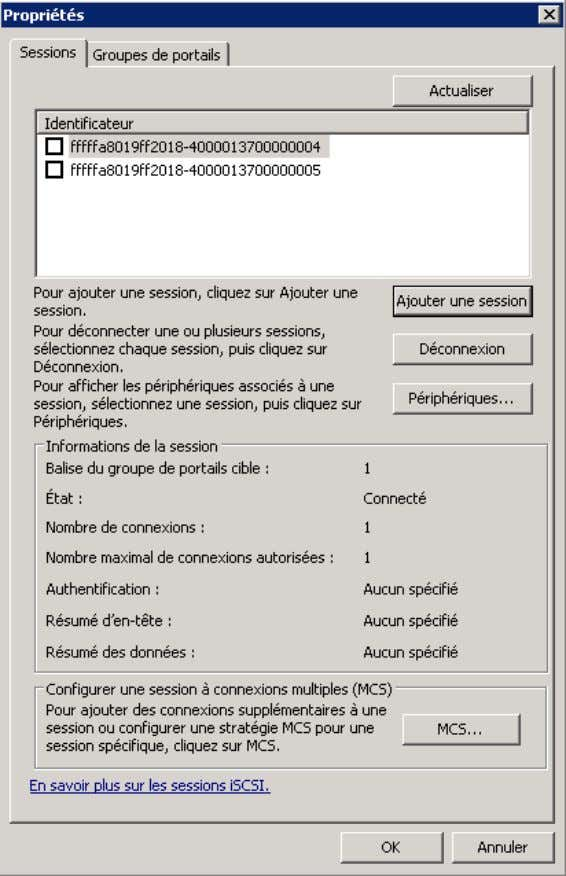 Cluster DHCP sur Windows serveur 2008 R2 Faite la même chose sur srv-dv2. 3) Validation de
