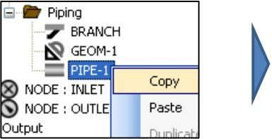 FLOW ASSURANCE WITH OLGA 7 Exercises In the PIPE-1 Properties window, change: ELEVATION = 0 m