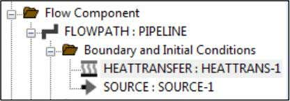 Boundary and Initial Conditions and choose HEATTRANSFER : In the HEATTRANSFER Properties window, enter these values