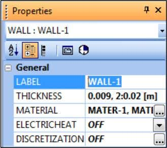 LABEL and enter the desired label (W-Pipeline or W-Riser). You now need to update the MATERIAL