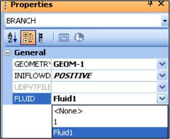"to switch FLUID to ""1"" in the Properties window: Fluid tables in this course are made"