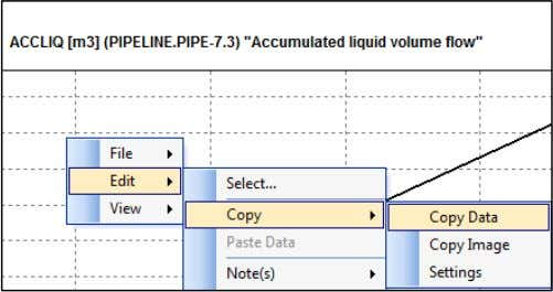 Open Excel and paste the data into an Excel spreadsheet. In the Excel spreadsheet, perform the