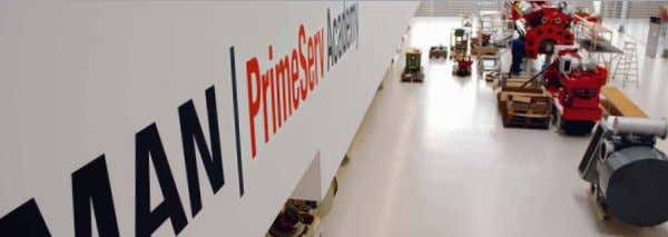 World Class Service Expert advice and assistance PrimeServ – peace of mind for life With more