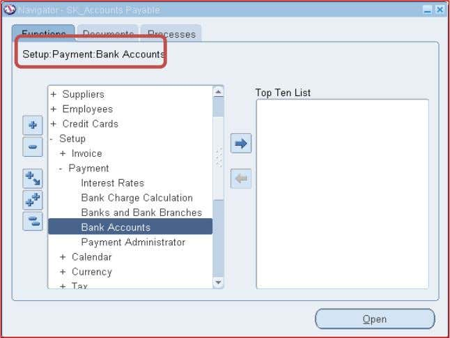 Receivables >Setup > Receipts > Bank Accounts Specify the bank account owner (Legal entity) and the