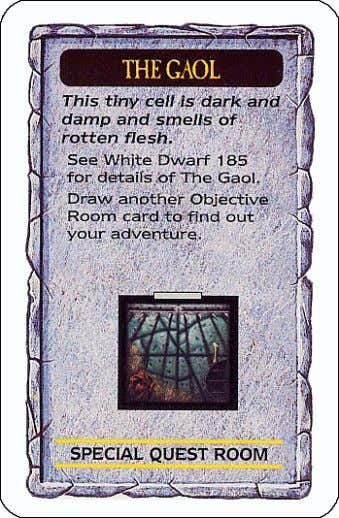 CompendiumCompendiumCompendiumCompendium Vol.Vol.Vol.Vol. IIIIIIII (Originally in White Dwarf number 185) Dungeon Card 3