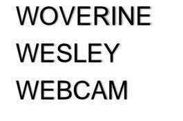WOVERINE WESLEY WEBCAM