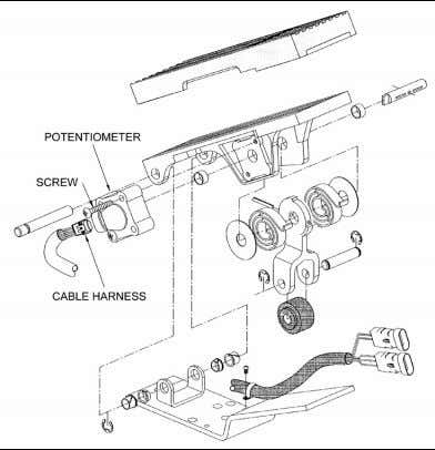 stretched, or otherwise damaged during vehicle operation. FIGURE 22: ELECTRONIC FOOT PEDAL ASSEMBLY 03035 PA1561 18