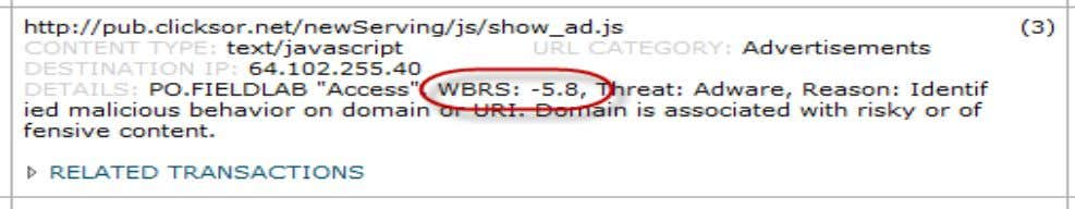  Known Botnet or Phising Site  Agressive Advertising BRKSEC-2101 © 2012 Cisco and/or its affiliates.