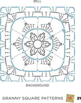 Bell 10 9 8 7 6 5 BacKGrounD Granny Square PaTTernS 21