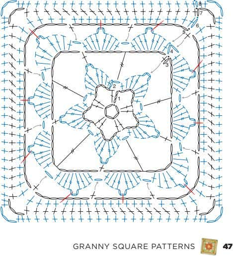 8 7 6 5 4 3 2 1 Granny Square PaTTernS 47