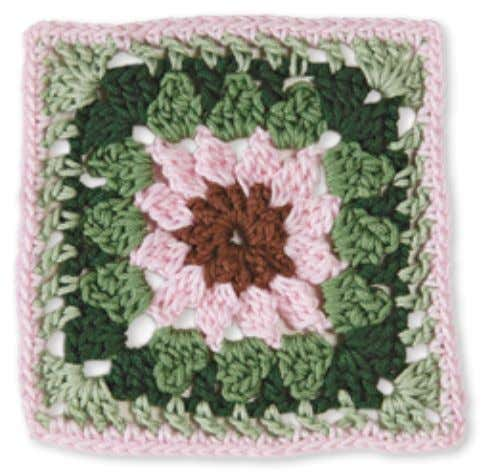 54 6 5 3 4 2 1 Granny Square flowerS Coneflower Skill level: easy Made