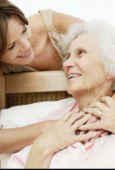 Hospice Volunteers Provide a Caring Touch A sante Hospice is a life-enhancing support system of nurses,