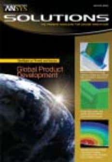 in developing products on a worldwide scale is expanding. For ANSYS, Inc. sales information, call 1.866.267.9724
