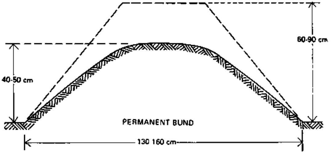 CHAPTER 2. BASIN IRRIGATION BASINS SHOULD BE SMALL IF THE: 1. slope of the land is