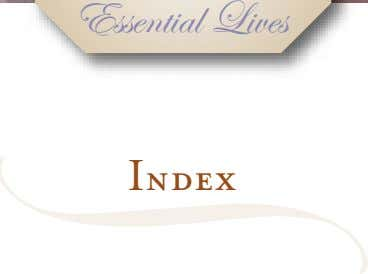 Essential Lives Index