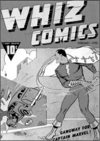 Fawcett Publications, though, ventured into the field at Both Wonder Man (from Wonder Comics #1) and