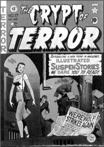 Crime SuspenStories and Shock SuspenStories . Their two EC's Crypt of Terror #17 (1950) was actually