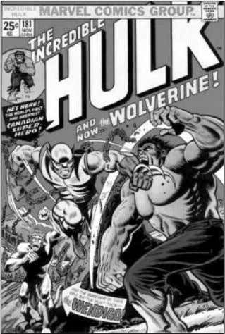From his first appearance in Hulk #181 (Nov. 1974), Wolverine went from secondary character to