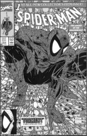 McFarlane, it was clear that the creator was now king. 30 Todd McFarlane's Spider-Man #1 (1990)