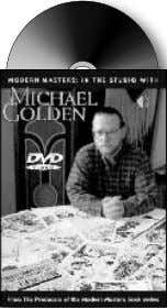 trade paperback) $14.95 (120-page TPB with COLOR ) $14.95 MODERN MASTERS STUDIO DVDs (120-minute Std. Format