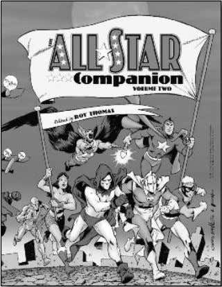 influence on the US! (204-page trade paperback) $21.95 ALL-STAR COMPANION Roy Thomas' extensive volumes unlock