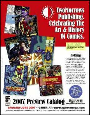 by ROY THOMAS. (100-page magazine) $6.95 cover price FOR A FREE COLOR CATALOG, CALL, WRITE, E-MAIL,