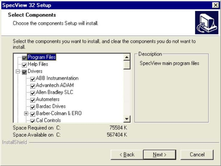 recommended to install into the default location C:\SV32 Demo Configurations There are a number of fully