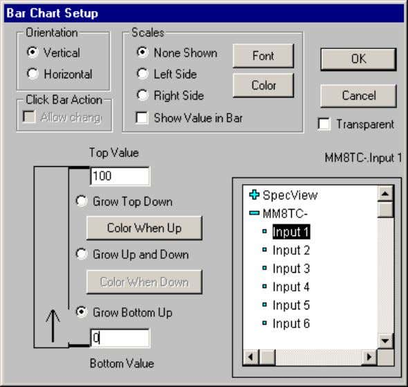 Quick Start Guide 28 This is used to choose the variable you want to display on