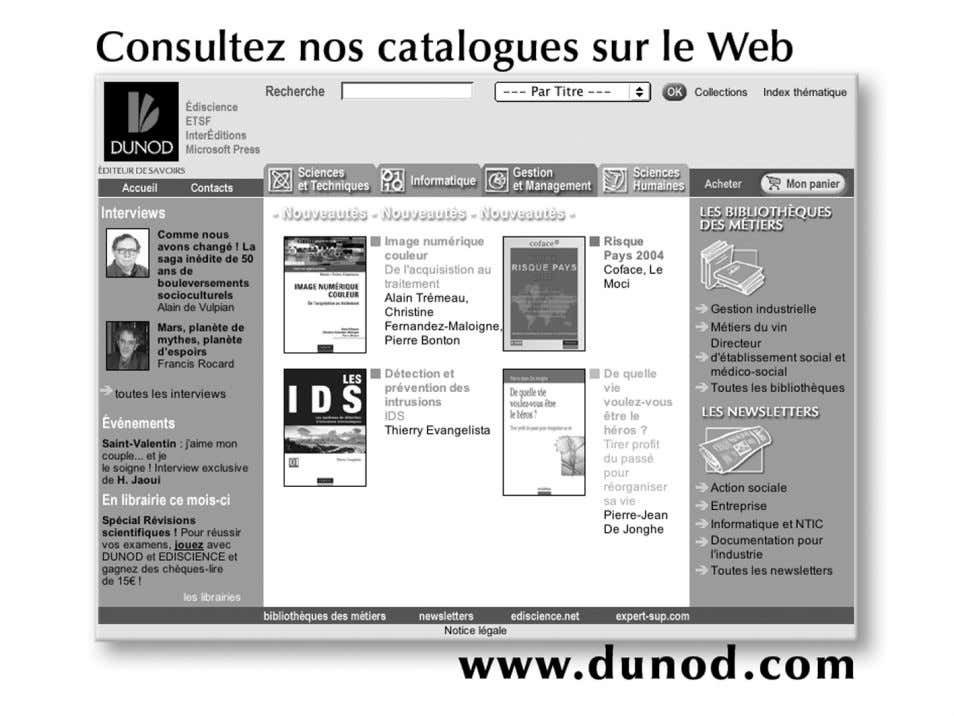© Dunod, Paris, 2005 ISBN 2 10 048676 4