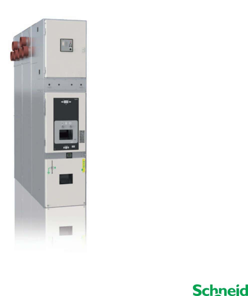 Distribution Catalogue I 2013 PIX Double Busbar Air Insulated Switchgear up to 17.5 kV Make the