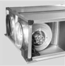 HEAT RECOVERY UNITS ENERGY BOX HIGHEST FLEXIBILITY Versatile assembly The design of our heat recovery units