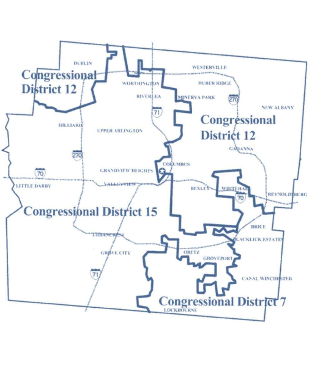 2002-2012 OhiO District Maps Franklin County Congressional Districts Office of the Ohio Secretary of State 11