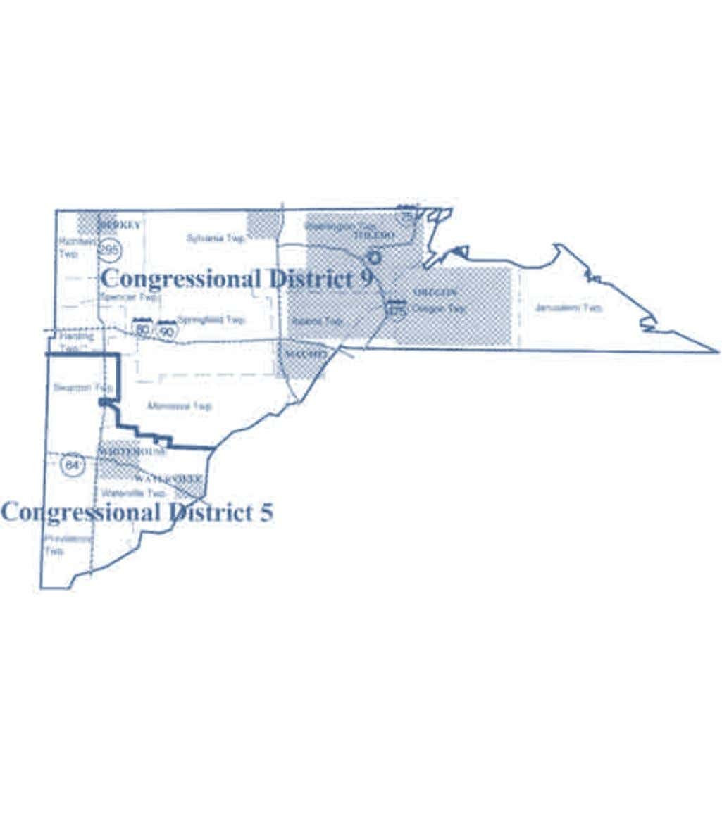 2002-2012 OhiO District Maps Lucas County Congressional Districts Office of the Ohio Secretary of State 15