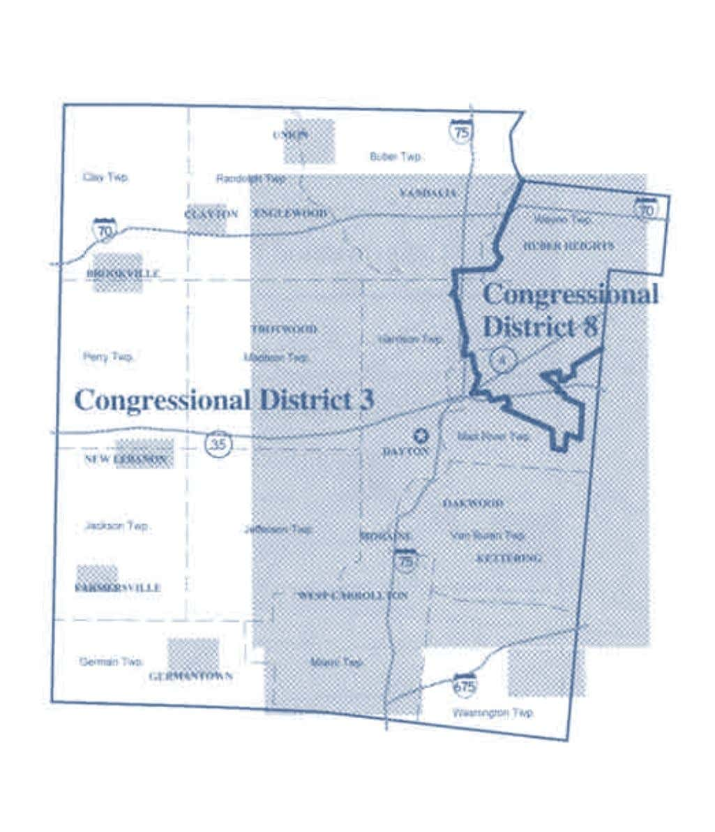 2002-2012 OhiO District Maps Montgomery County Congressional Districts Office of the Ohio Secretary of State 19